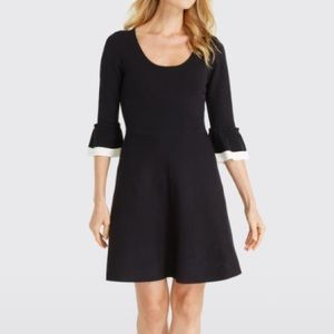 NWT Draper James Flutter Sleeve Knit Dress